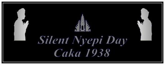 Nyepi Tag auf Bali