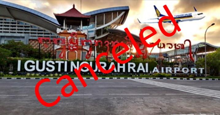 canceled singapore bali