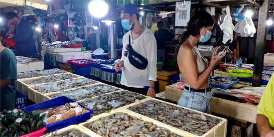fisch markt bali