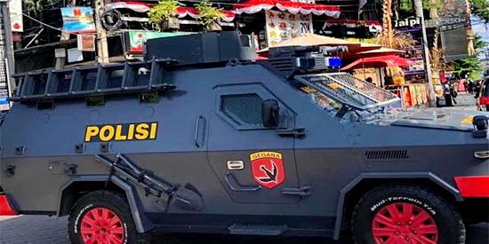 polisi polizei indonesien