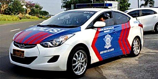 polizei polisi bali