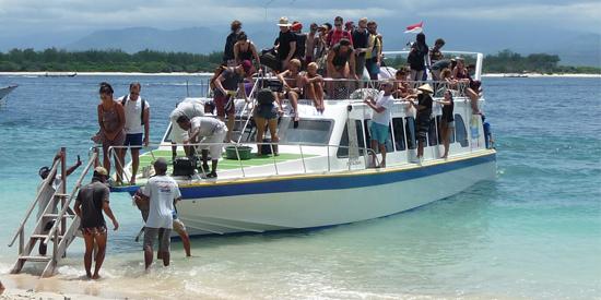 speedboot bali trawangan