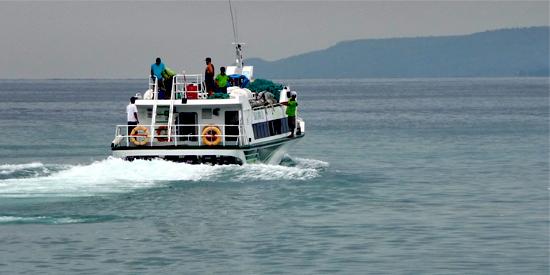speedboot bali