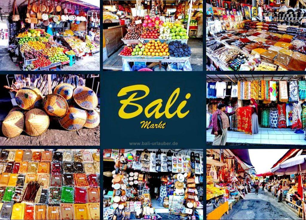 urlauber bali markt
