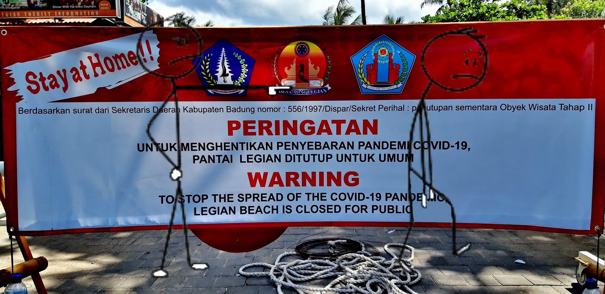 warning kuta
